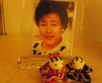 母の写真です
