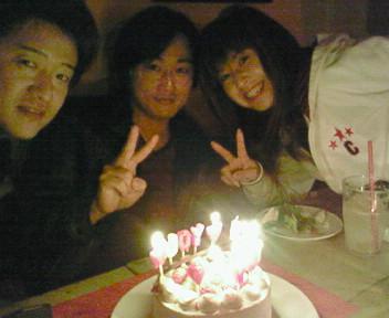 お誕生日\(^O^)<br />  /