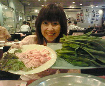 大阪でディナー(^^)v