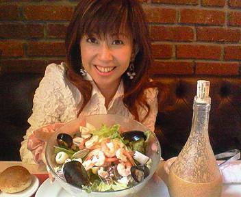 てんこ盛りサラダ(^O^)<br />  /
