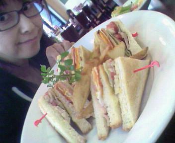 遅い昼食(^^)v