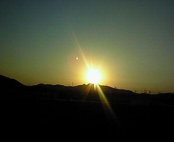 夕焼け〜♪